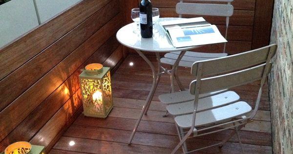 Ideas para terrazas decoraci n original para tus - Iluminacion original ...