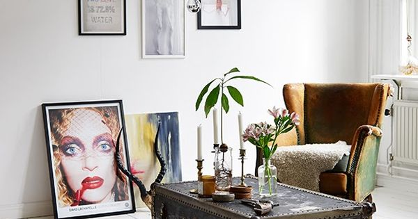 my scandinavian home: A very cool Swedish apartment