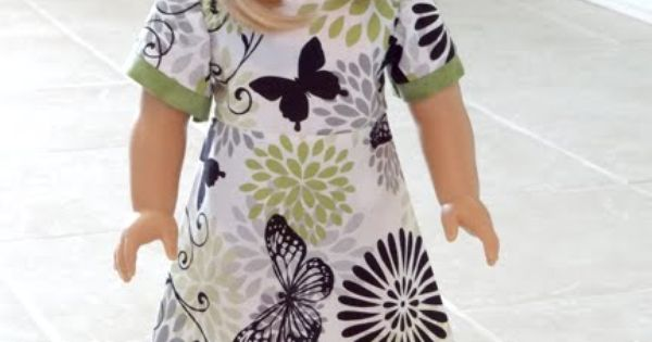 My Cup Overflows: American Girl Dress Pattern FREE PATTERN!