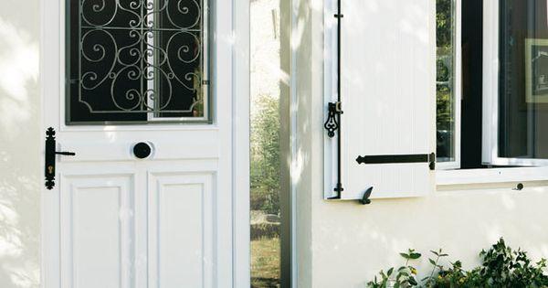 les portes d entr e en pvc entr e portes et isolation thermique. Black Bedroom Furniture Sets. Home Design Ideas