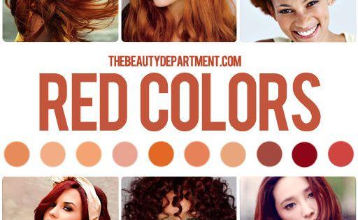 all shades of red auburnhair fallhair haircolor fall hair