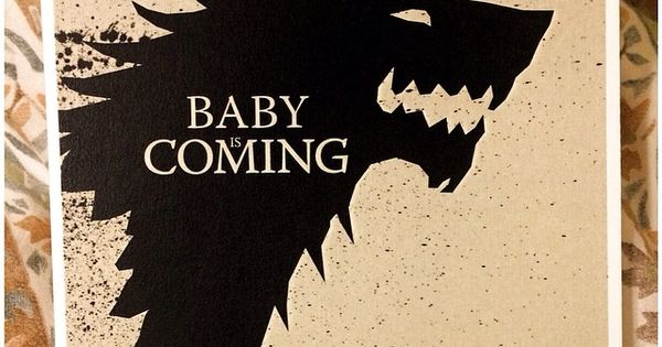Game Thrones Themed Baby Shower Winteriscoming Gameofthrones Themes