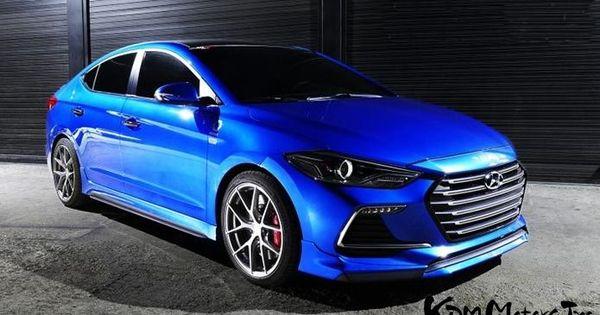 C Factory Ad Elantra Sports Front Lip Spoiler 16 Shipped Elantra Hyundai Elantra Bugatti S