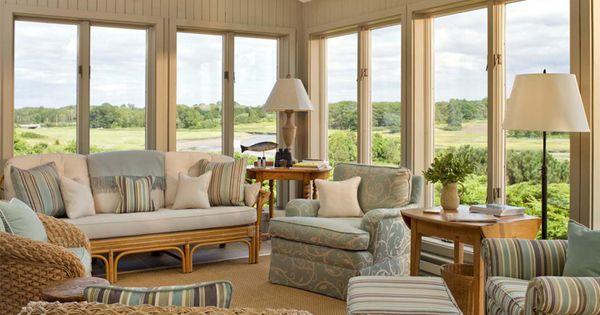 Resultado De Imagen Para Casas Estilo Ingles Sunroom Decorating Sunroom Designs Indoor Sunroom Furniture