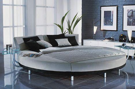 Modernes Rundes Bett Von Ruf Bett Das Circolo Bett Weisse