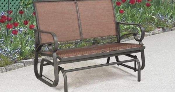 Delmar Double Glider At Menards Firepits And Outdoor