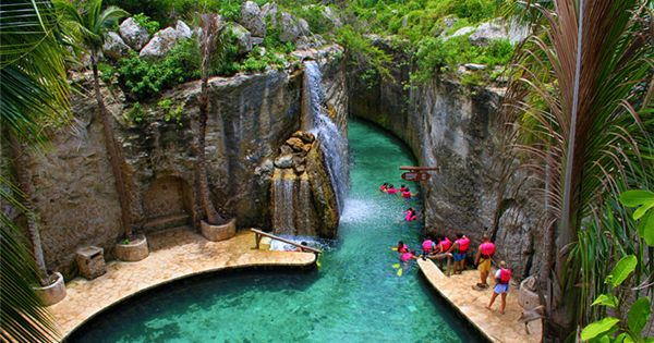 XCARET, CANCUN MEXICO I have been here it's the most beautiful place