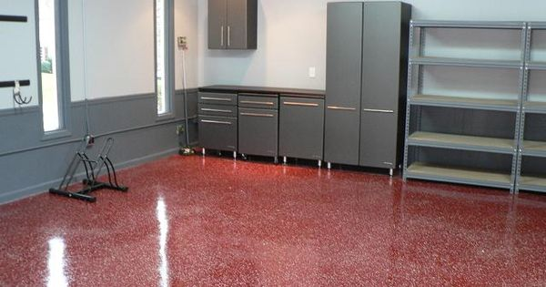 Atlanta Garage Floors Epoxy Acid Stain Polished
