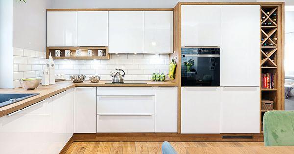 Jezeli Zalezy Wam Na Tym Aby Wasza Kuchnia Byla Modna I Ponadczasowa Postawcie Na Biel Kuchnia Meble S Kitchen Design Diy Kitchen Design Kitchen Cabinets