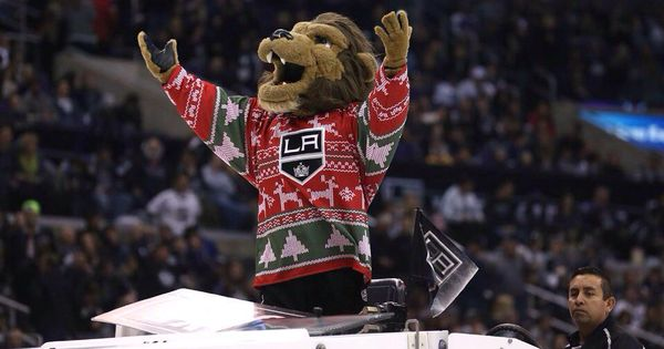 La Kings Mascot Loved My Ugly Christmas Sweater Jersey