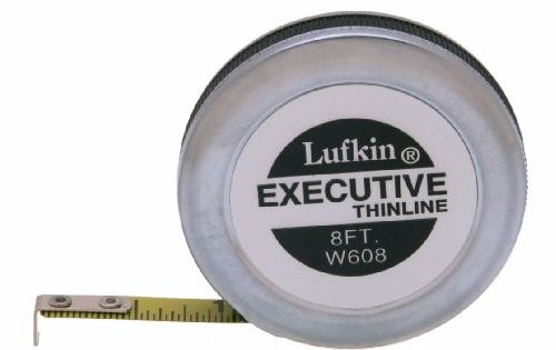 Coopertools W608 1 4 Inch X 8 Thin Line Tape Ruler Lufkin Tape Tape Measure