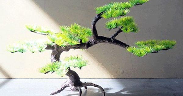 Plastic bonsai tree fish tank aquarium ornament decor for Fish tank tree