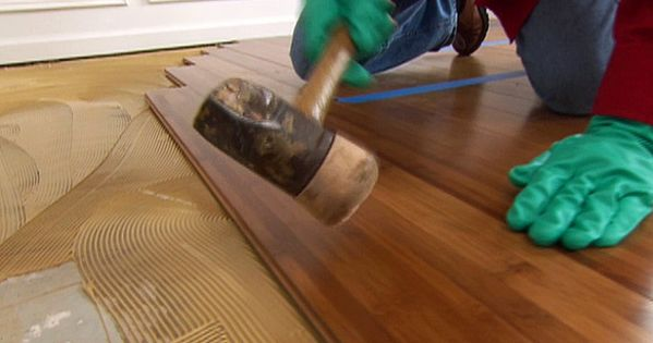 How To Install Bamboo Plank Flooring Bamboo Flooring Installing Bamboo Flooring Diy Flooring