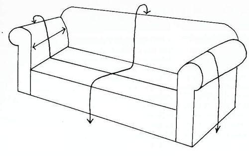 Como realizar fundas para un sill n cobertores de - Como tapizar un sillon ...