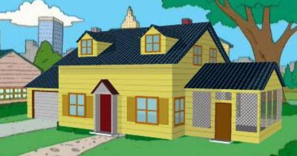 Family guy griffin house floor plan house design plans for House plan guys