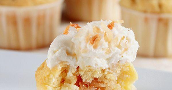 Coconut CreamCupcakes