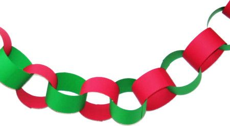 Christmas Diy Contruction Paper Garland Diy Christmas Tree Garland Diy Christmas Garland Christmas Paper Chains