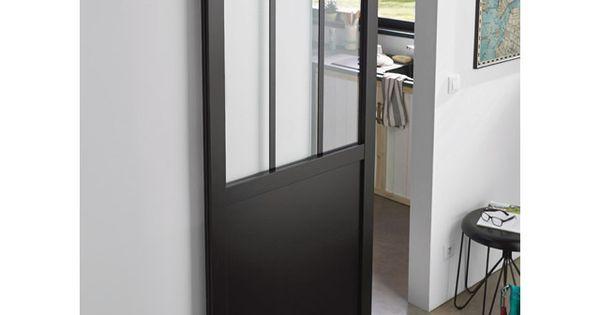 Porte Coulissante Vitree Atelier 83 Cm Porte Coulissante Porte Coulissante Atelier Porte Coulissante Verriere