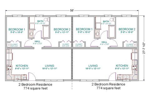 Two Bedroom Two Bath House Plans 800 Sq Ft Home Floor Plan The Imperial Model Imp Mobile Home Floor Plans Modular Home Floor Plans Modular Home Plans