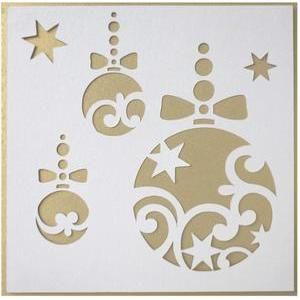 Christmas Stencils Angel Shop Display Window Decorations Art Craft Reusable