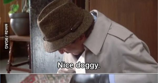 quote - Does your dog bite? scene is worth the whole movie ...