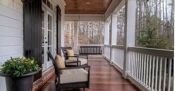 Front Porch Love Future Dream Home Third Times The Charm