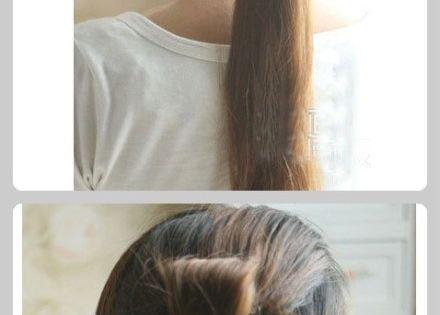 Fun Easy Flower Hair Tutorial