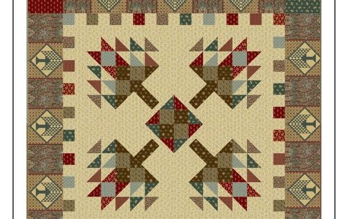 Free Pattern Pine Tree Lodge By Nancy Rink Quilt