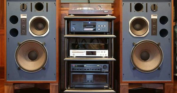 Jbl Amp Onkyo Home Stereo System Vintage Stereo Systems
