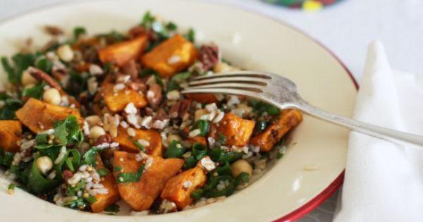 Brown rice salad | Food Love | Pinterest | Potato, Rice Salad and ...