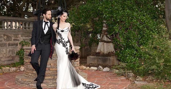 explore victorian gothic wedding