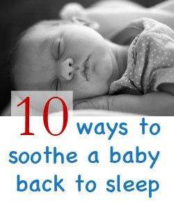 How To Get Baby Back To Sleep After Waking Up