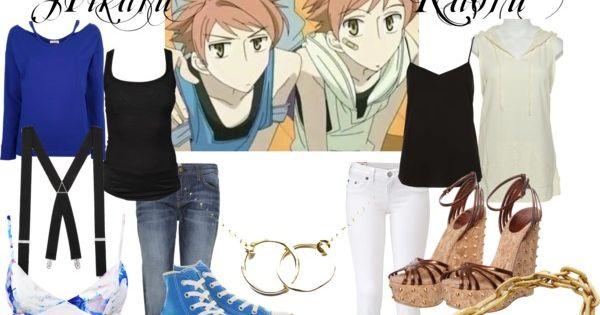 Hikaru And Kaoru Fashion Style