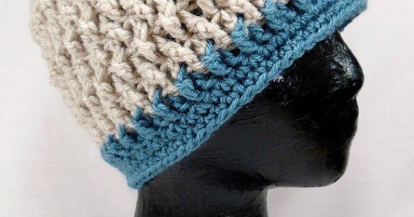 Crochet Hat Pattern Kids Twisted Beanie By