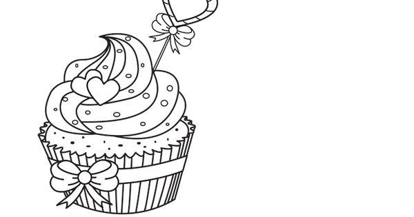 ausmalbilder cupcake  cupcake ausmalbilder und ausmalen