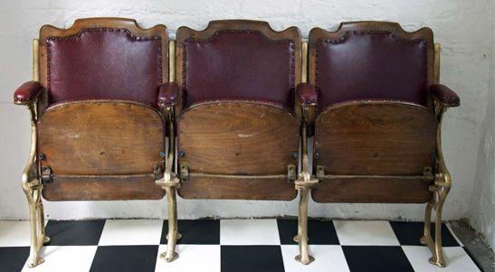 Vintage Cinema Seats Cinema Seats Cinema Chairs Fabric Dining