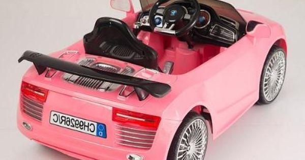 سيارة أودي وردية سيارات اطفال سيارات صغيرة ألعاب سيارات