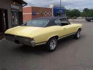 Chevrolet 1968 Chevelle Butternut Yellow Vintage Muscle Cars Chevy Muscle Cars Chevrolet Chevelle