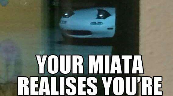 Cf E C Ef Eab on Mazda Miata
