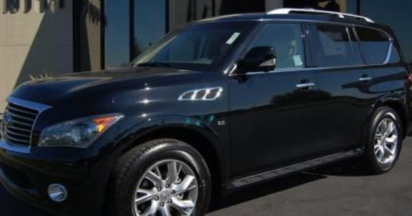 2014 Infiniti Qx80 Base 4x4 4dr Suv Suv 4 Doors Black Obsidian For Sale In Concord Ca Source Http Www Usedcarsgrou New Cars For Sale New Cars Cars For Sale