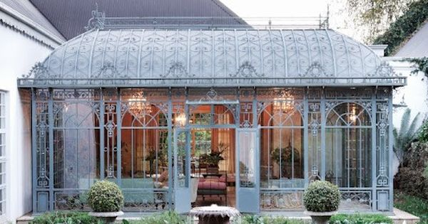 Classic French style meets grand country living. A Victorian conservatory was added