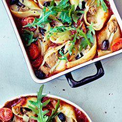 Muszle Nadziewane Tunczykiem Stuffed Pasta Shells Cooking Recipes Food