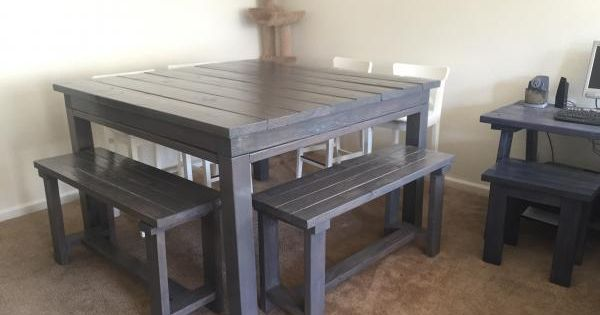 altered 8 seater table do it yourself home projects from white dining room tutorials