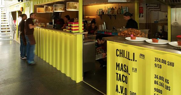 Wahaca shipping container restaurant by softroom london hotels and restaurants eco cccm - Wahaca shipping container restaurant ...