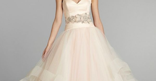 THE dress of my DREAMS!! Lazaro Spring 2013 - Pink wedding dress