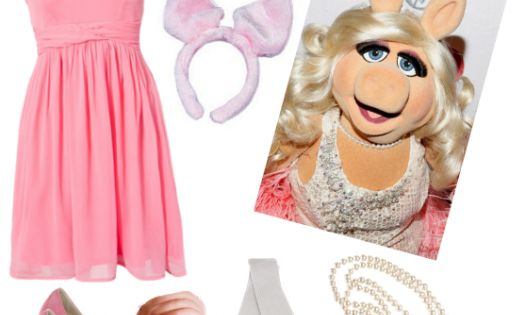 Miss Piggy costume! Style DIY costumes with this super fun, easy tool