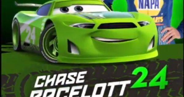 Chase Elliott Is Going To Be Chase Racelott In Cars 3
