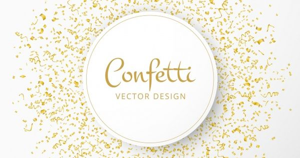 Gold Confetti On A Transparent Background Transparent Clipart Glitter Confetti Png And Vector With Transparent Background For Free Download Confetti Background Gold Confetti Transparent Background