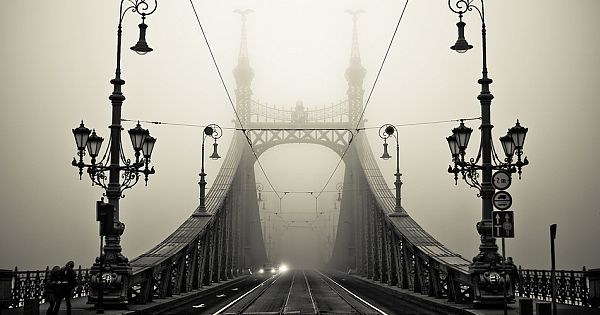 "Budapest fog -- ""in a dream of Hungarian Lanterns..."""