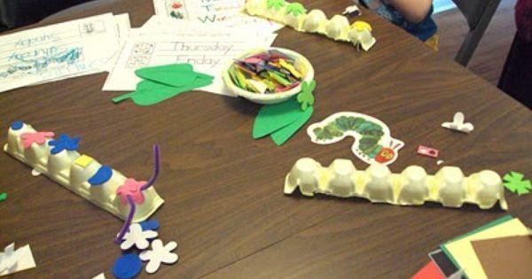 Cute caterpillar ideas